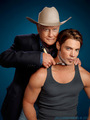 John Ross & JR - dallas-tv-show photo