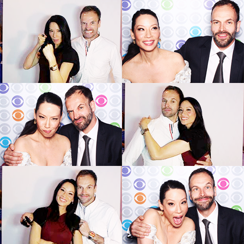 Jonny&Lucy(CBS upfronts)