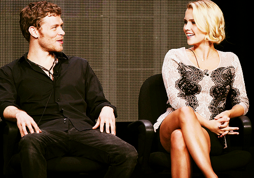 Joseph مورگن & Claire Holt // TCA Summer Press Tour