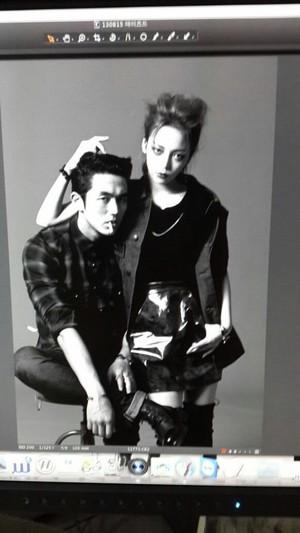 KARA's Hara and 2AM's Seulong 'Dazed and Confused' Bangtan Boys fotos