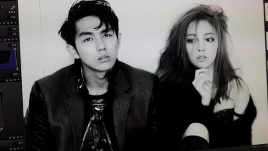 KARA's Hara and 2AM's Seulong 'Dazed and Confused' BTS foto-foto