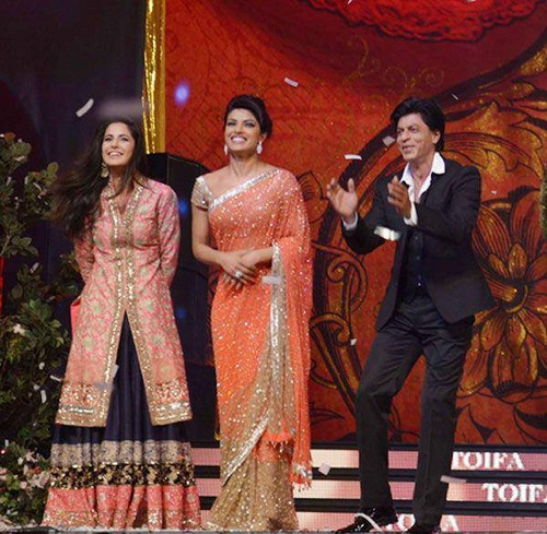 KK ,Priyanka and SRK