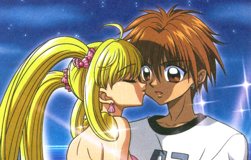 Mermaid Melody Hintergrund with Anime called Kaito x Luchia