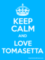 Keep Calm - violetta photo