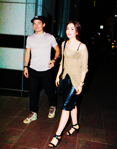 Kevin and Lily in Toronto