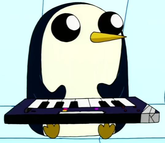 Keyboard Time With Gunter Origin Hora De Aventura Foto