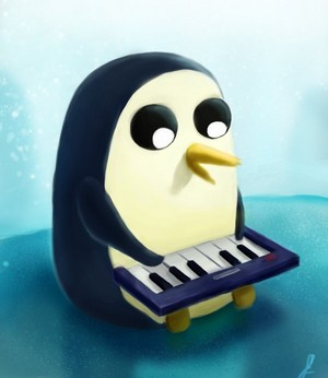 Keyboard Time with Gunter