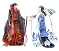 Kimonos - zutara-of-fire-and-water fan art