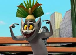 Penguins of Madagascar wallpaper titled King Julien