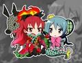 Kyouko & Sayaka ~ Ophelia & Oktavia Chibis