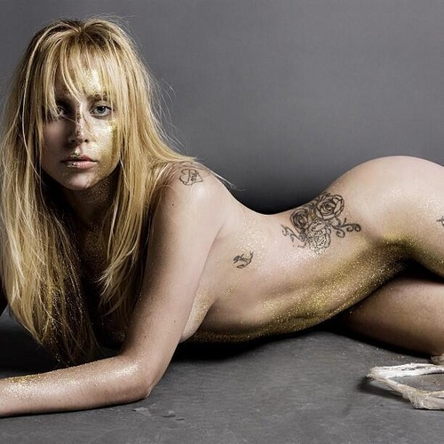 Lady Gaga for V Magazine door Inez and Vinoodh