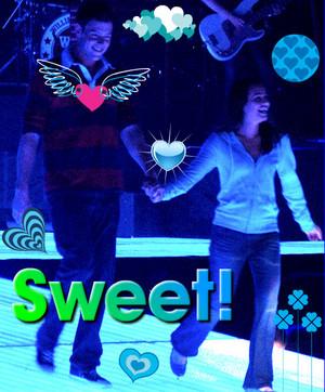 Lea Michele And Lea Michele And Cory Monteith