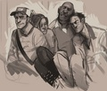 Left 4 Dead 2 Survivors - left-4-dead-2 fan art