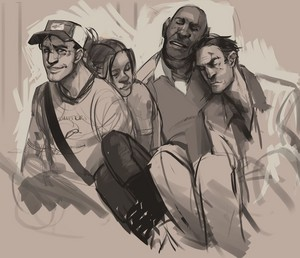 Left 4 Dead 2 Survivors