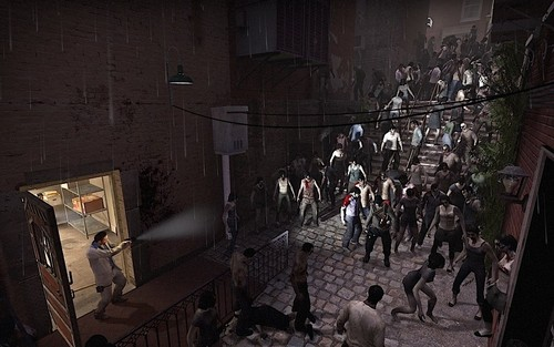 Zombies wallpaper probably containing a cell, a penal institution, and a jail called Left 4 Dead 2