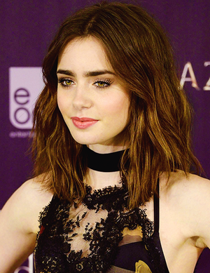 Lily at the TMI photocall in Madrid