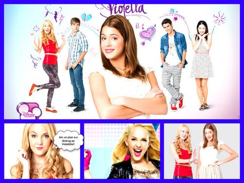 Violetta wallpaper with a portrait called Ludmilla