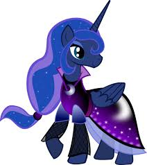 Princess Luna fond d'écran titled Luna Dress
