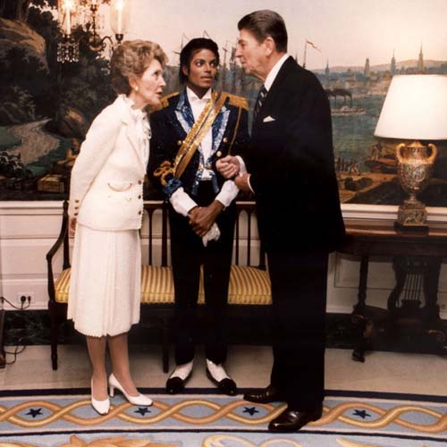 MJ and the Reagans