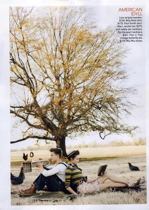 Magazine scans: Teen Vogue (April 2009)