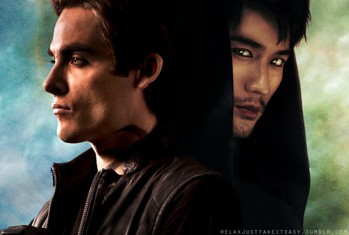 Alec & Magnus hình nền containing a portrait called Malec