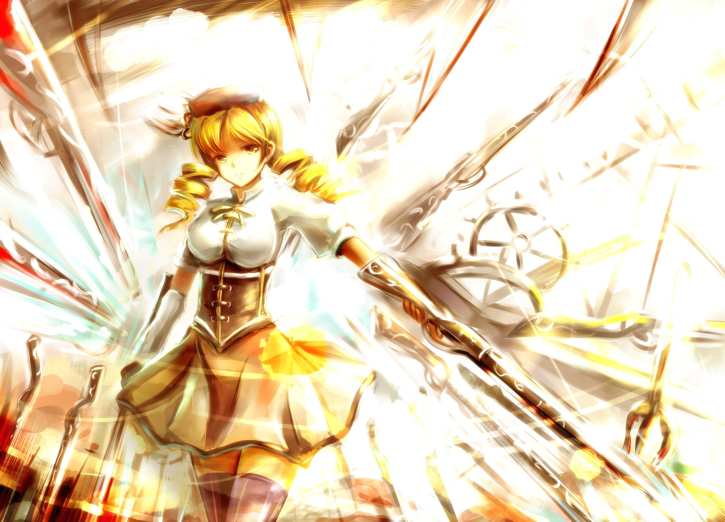 Puella Magi Madoka Magica Images Mami Tomoe Hd Wallpaper And