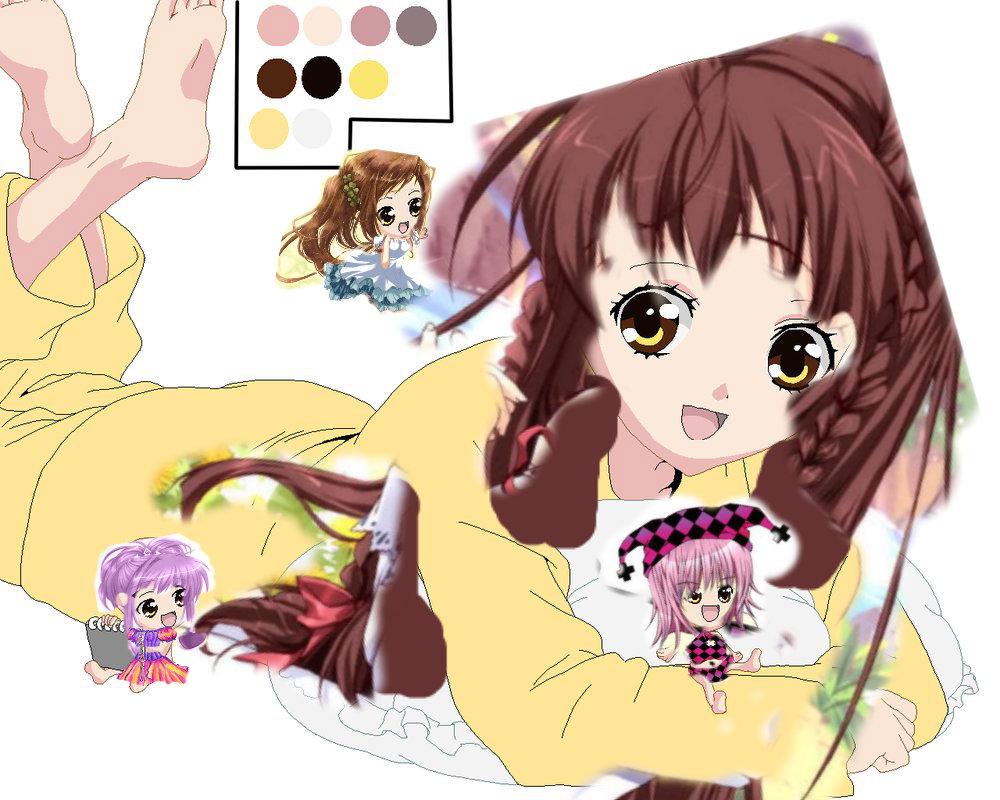 Me, and my guardian characters - Shugo Chara Fan Art ...