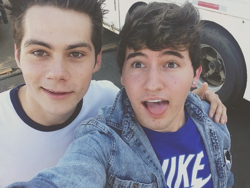 jc caylen fondo de pantalla possibly with a calzada titled Meeting TEEN WOLF!