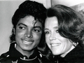 Michael And Actress, Jane Fonda - michael-jackson photo