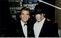 Michael And Dick Backstage At The 1993 American Music Awards - michael-jackson photo