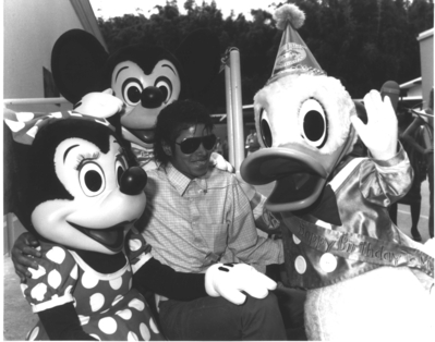 Michael At Disneyland