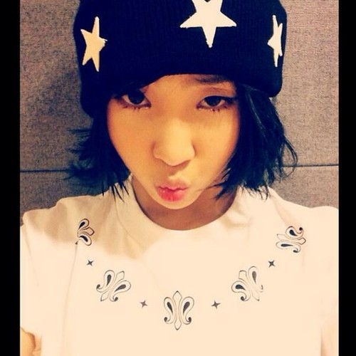 "Minzy's Instagram Update: ""YOYO!!"""