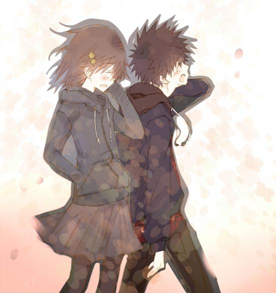 touma and misaka relationship