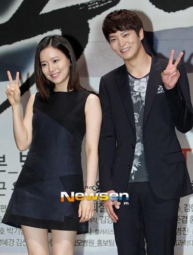 Moon Chae Won and Joo Won
