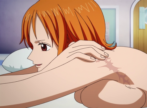 One Piece achtergrond containing anime entitled Nami (>w<)