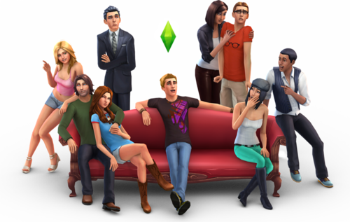 Sims 4 Обои entitled New SIms 4!