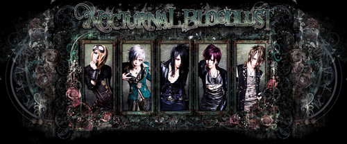 Nocturnal Bloodlust پیپر وال with a stained glass window entitled Nocturnal Bloodlust