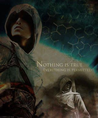 The Assassins Wallpaper With A Rifleman Called Nothing Is True Everything Permitted