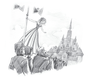 Official Frozen Illustration