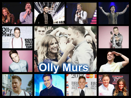 Olly Murs karatasi la kupamba ukuta possibly containing a stained glass window titled Olly Collage