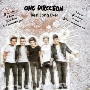 One Direction Best Song Ever Cover Design