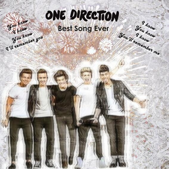 one direction images one direction best song ever cover design
