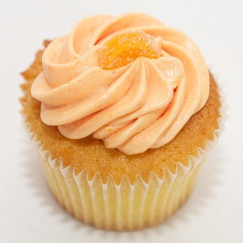 नारंगी, ऑरेंज कप केक