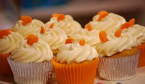 naranja cupcakes ♥