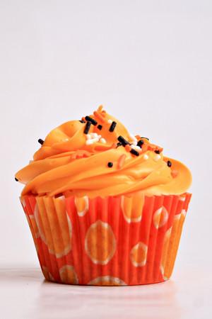 주황색, 오렌지 컵케익 ♥