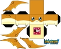 Patamon papercraft - digimon photo