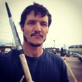 Pedro Pascal - Season 4 filming - game-of-thrones photo