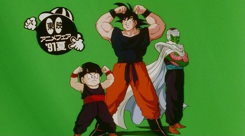 Piccolo, गोकु and Gohan