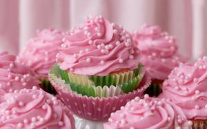 गुलाबी कपकेक ♥