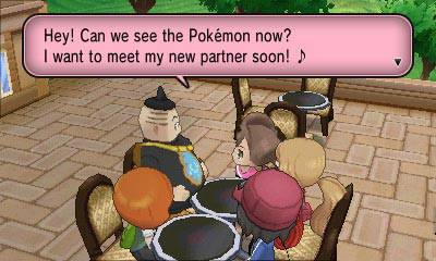 Pokemon X/Y screenshots